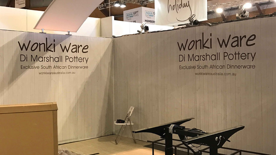 Exhibition Stand Wonky Ware