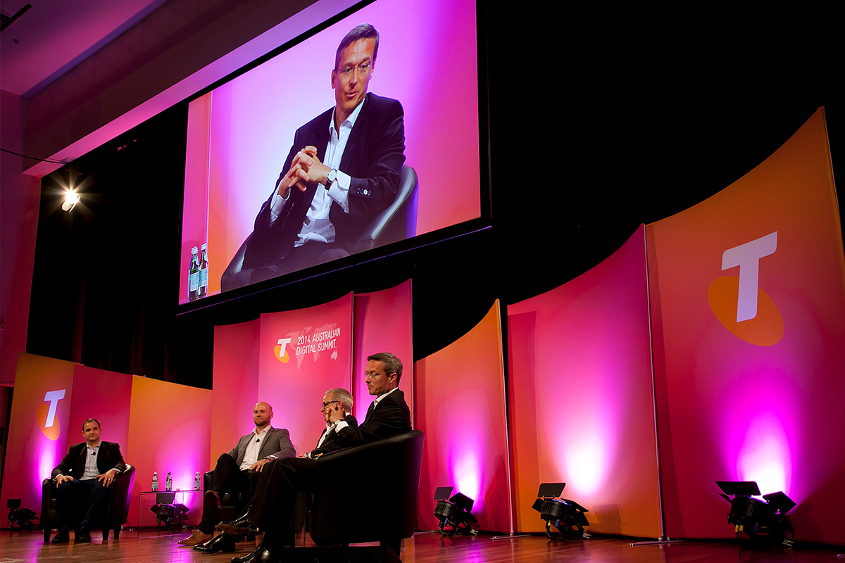 Telstra Summit Event with Fabricated