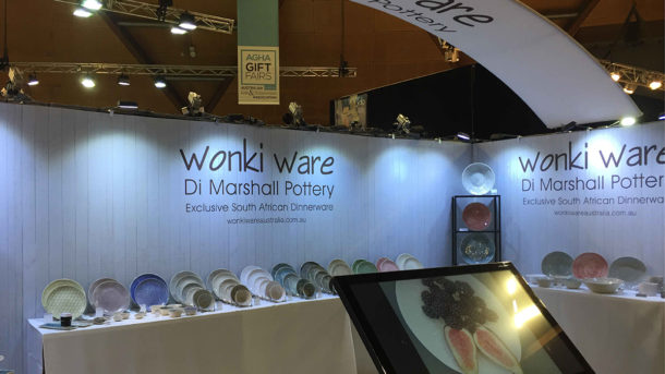 Exhibition Stand Complete Wonky Ware 2