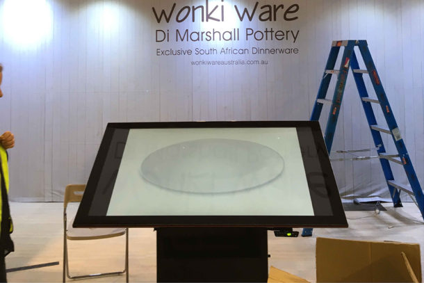 "Touch Screen Table 62"" Wonky Ware"