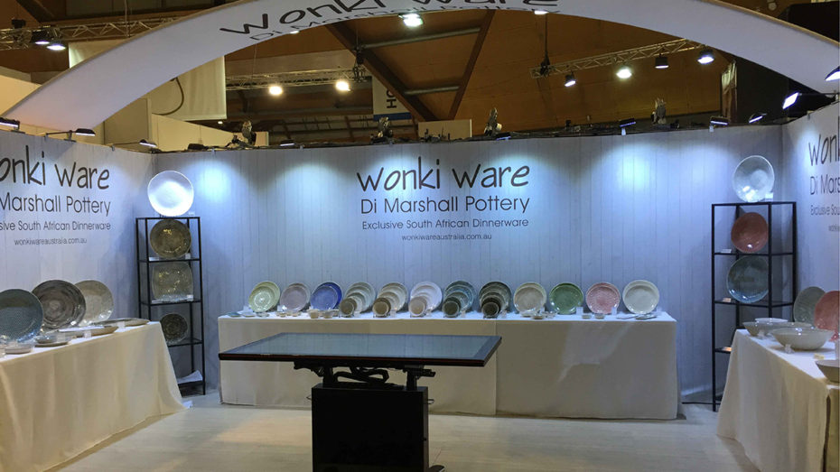 Exhibition Stand Complete Wonky Ware 4