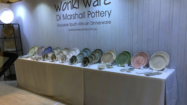 Exhibition Stand Complete Wonky Ware