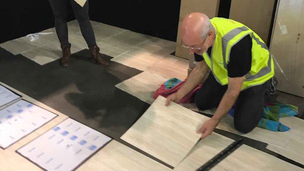 Exhibition Stand Flooring Wonky Ware