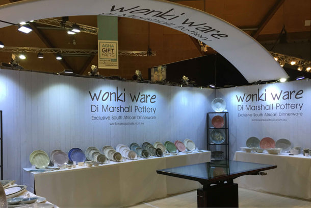 Exhibition Stand Complete Wonky Ware 3