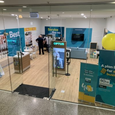 Optus Pop Up